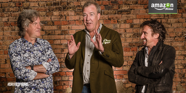 "BREAKING: Amazon Originals kicks it into ""Top Gear"" by announcing new show with Jeremy Clarkson and friends"