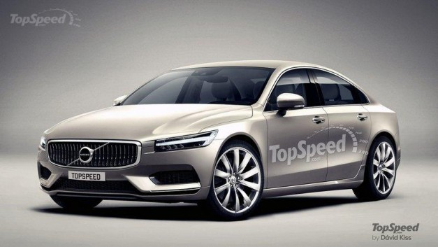 Photo Rendering: This is what the new Volvo S90 could look like
