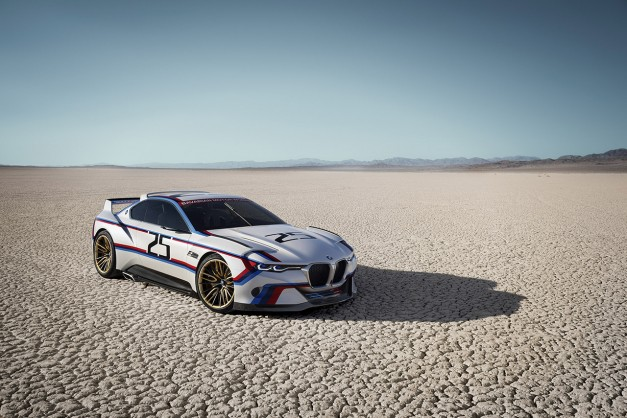 2015 Pebble Beach: BMW's new 3.0 CSL Hommage R looks significantly better than the first concept