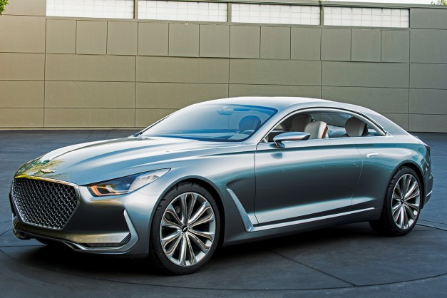 Hyundai reveals their stunning new Vision G Coupe Concept