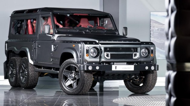 Report: Tuning firm Kahn attempts to one up the Mercedes-AMG G63 AMG 6×6