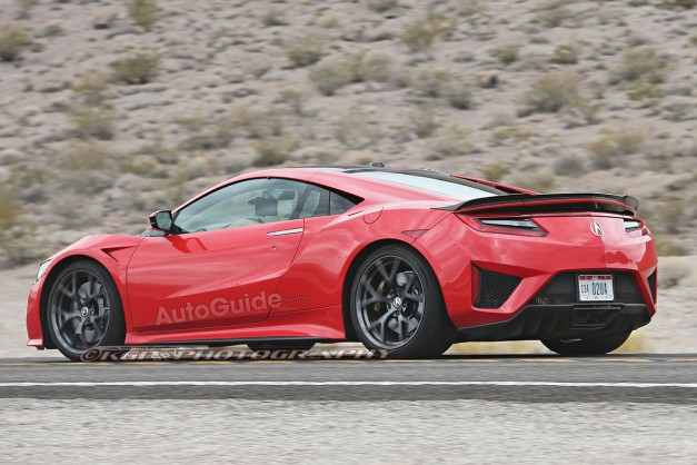 Spy Shots: The production 2016 Acura NSX gets spotted in the wild