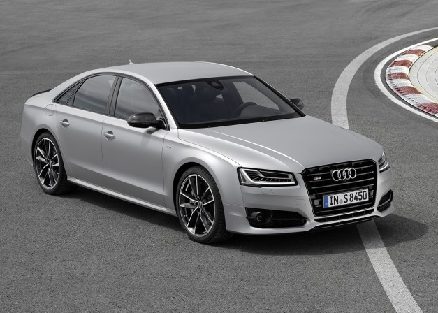 The 2016 Audi S8 Plus is an S8, but with a plus, which means more…of something