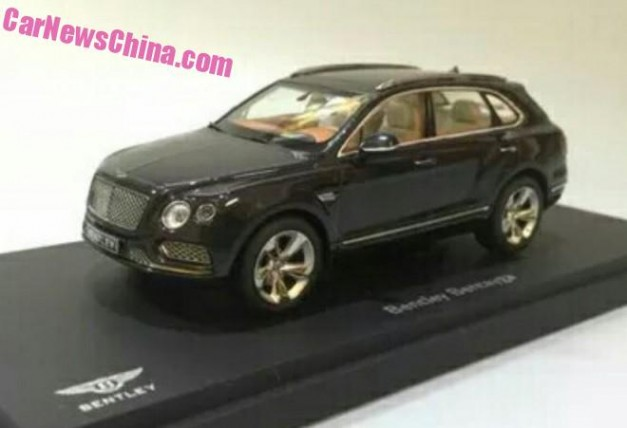 Photo Leak: Is this what the Bentley Bentayga will look like?