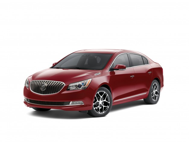 The 2016 Buick LaCrosse, Regal, and Verano sedans gain new Sport Touring treatment