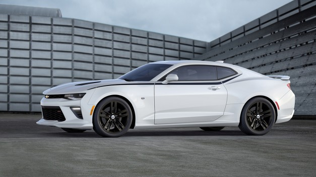 You'll need $26,695 to enter the world of the General's bow-tie muscle car–the 2016 Chevrolet Camaro