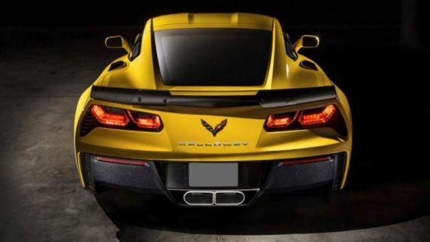 The Chevrolet Corvette Z06 gets tuned to 757hp by Callaway