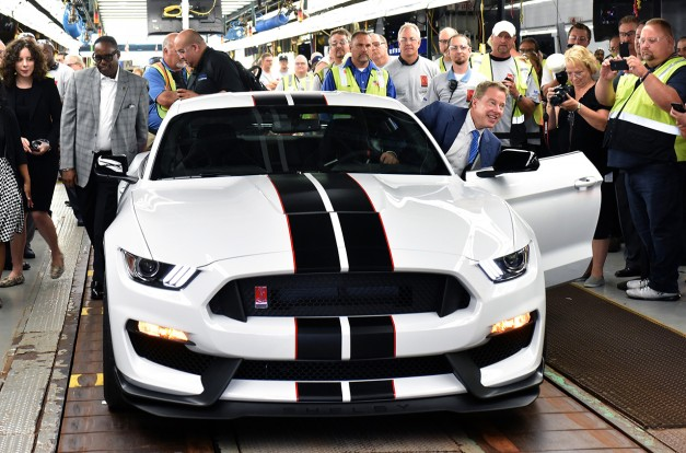 Video: Watch production of the 2016 Ford Shelby GT350R Mustang commence in Flat Rock, MI