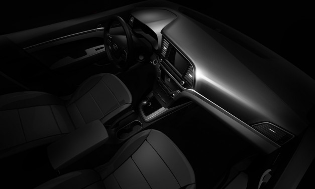 Teaser: The interior of the 2016 Hyundai Elantra looks to be just as good as the exterior