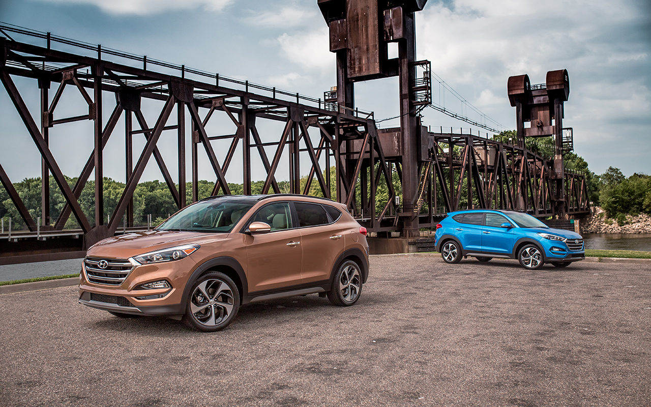 First drive the 2016 hyundai tucson limited improves upon for Smart motors tucson reviews