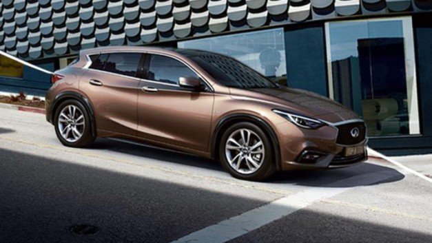 Photo Leak: Another official photo surfaces of the production Infiniti Q30 ahead of Frankfurt