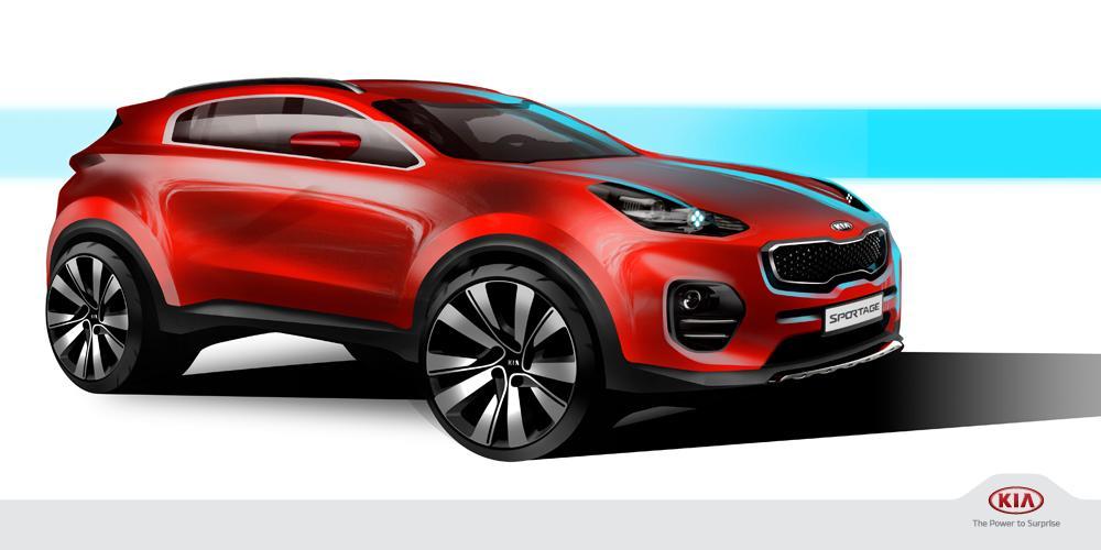 2016 Kia Sportage Design Sketches (1) - egmCarTech - egmCarTech