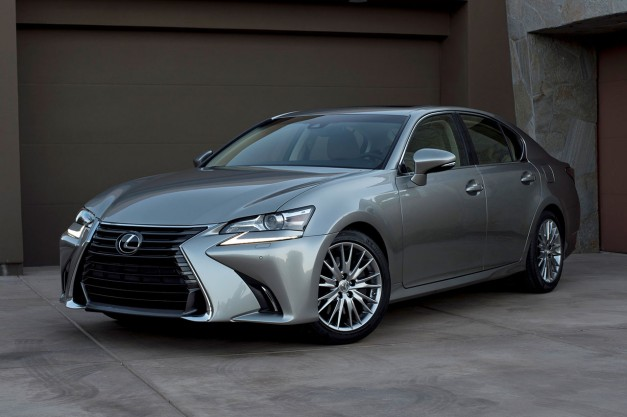 2015 Pebble Beach: The 2016 Lexus GS gets the new 2.0L turbocharged four, among other tweaks and updates