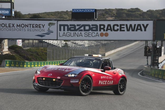 2015 Pebble Beach: The 2015 Mazda Miata MX-5 Cup Edition gets revealed