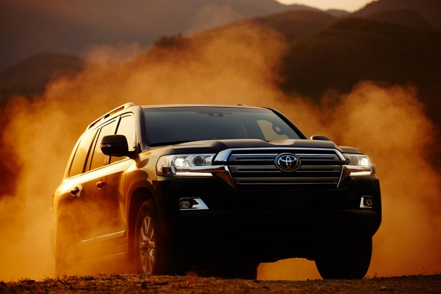 The 2016 Toyota Land Cruiser gets detailed and it still is available in America