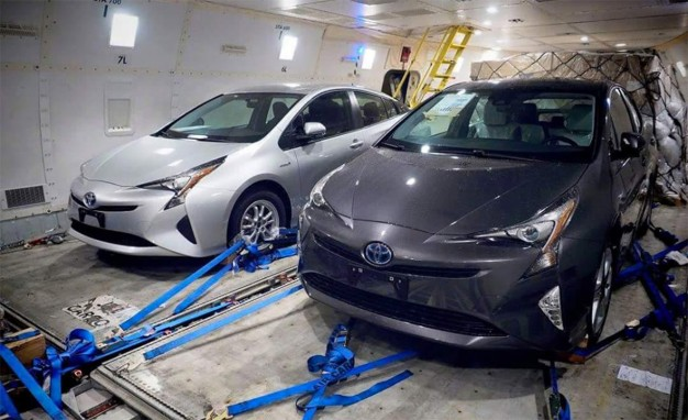 Spotted: The all-new 2016 Toyota Prius was caught recently undisguised