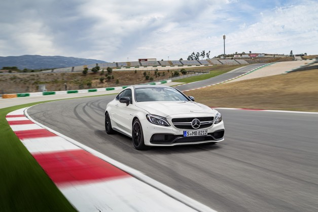 Here's the 2017 Mercedes-AMG C63 Coupe to take on the BMW M4 and Cadillac ATS-V