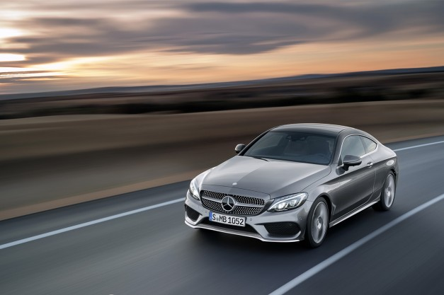 BREAKING: The all-new 2017 Mercedes-Benz C-Class Coupe gets revealed at Pebble Beach