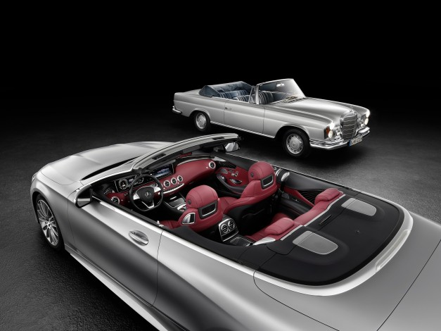 Teased: Mercedes-Benz releases first official picture of the S-Class Cabriolet