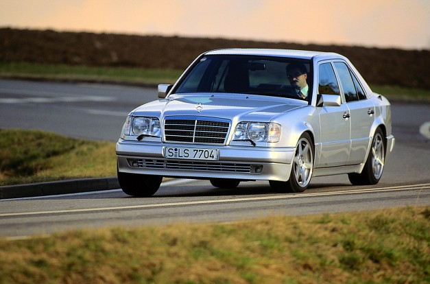 Mercedes-Benz celebrates the 25th anniversary of the W124 500E