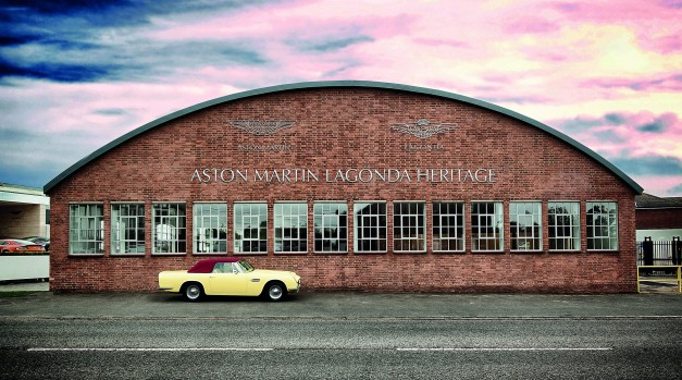 Aston Martin launches new certification program for classic models
