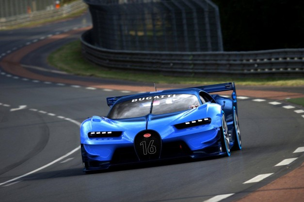 Video: Watch and listen to the Bugatti Vision Gran Turismo Concept come to life at Frankfurt