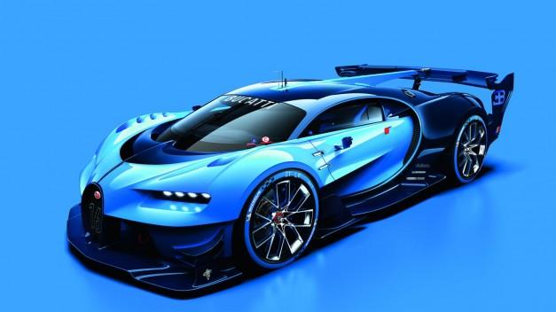 Bugatti reveals their Vision Gran Turismo Concept ahead of Frankfurt