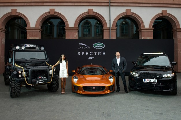 2015 Frankfurt – IAA: Jaguar-Land Rover fully reveal James Bond star cars from up and coming Spectre