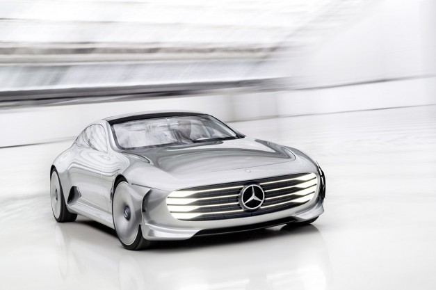 Report: Mercedes-Benz will debut a new EV SUV concept at Paris this year