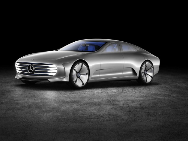 2015 Frankfurt – IAA: The Mercedes-Benz Concept IAA is an Intelligent Aerodynamic Automobile