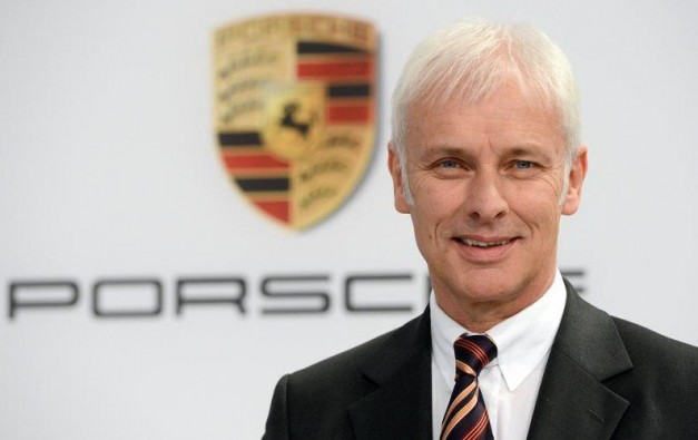 Volkswagen Group's new CEO is Porsche's former boss, Matthias Muller