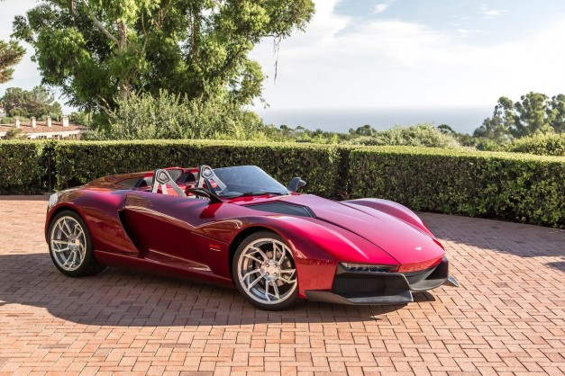 The Rezvani Beast Speedster is a lightweight oddball of a sports car
