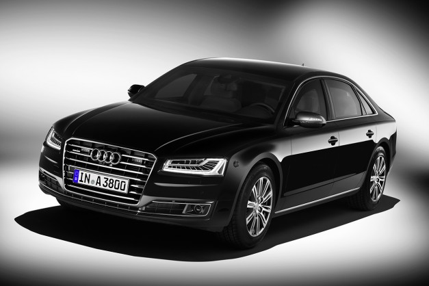 The new Audi A8 L Security is the world's most secure Audi ever