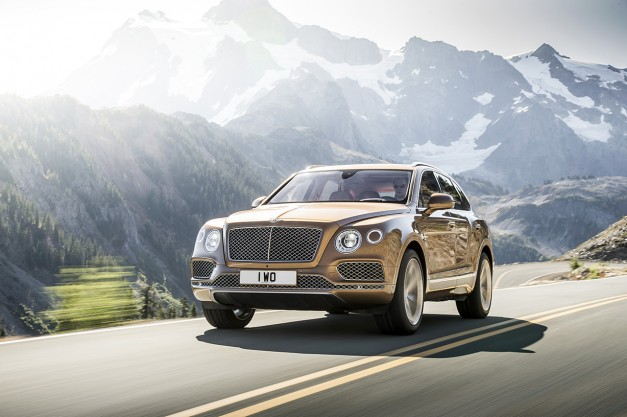 "Report: Bentley is already considering a high-performance Bentayga ""Speed"""