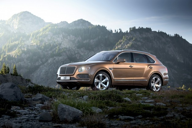 Report: The Bentley Bentayga to get e-turbo diesel version