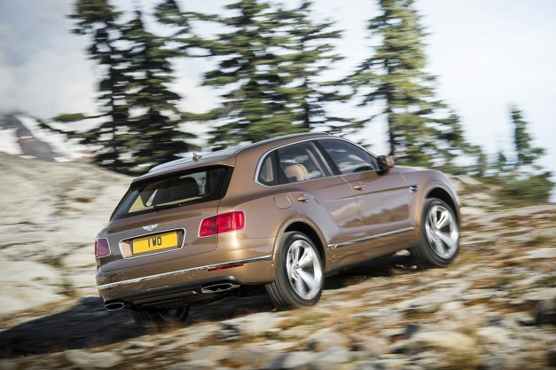 Report: Bentley's CEO doesn't think 600hp is enough for the Bentayga