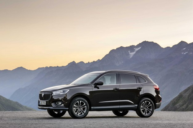 The Borgward BX7 is a midsize crossover that nobody's ever heard of