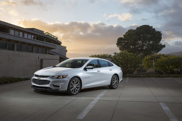 The 2016 Chevrolet Malibu is cheaper than a Honda Accord or Toyota Camry
