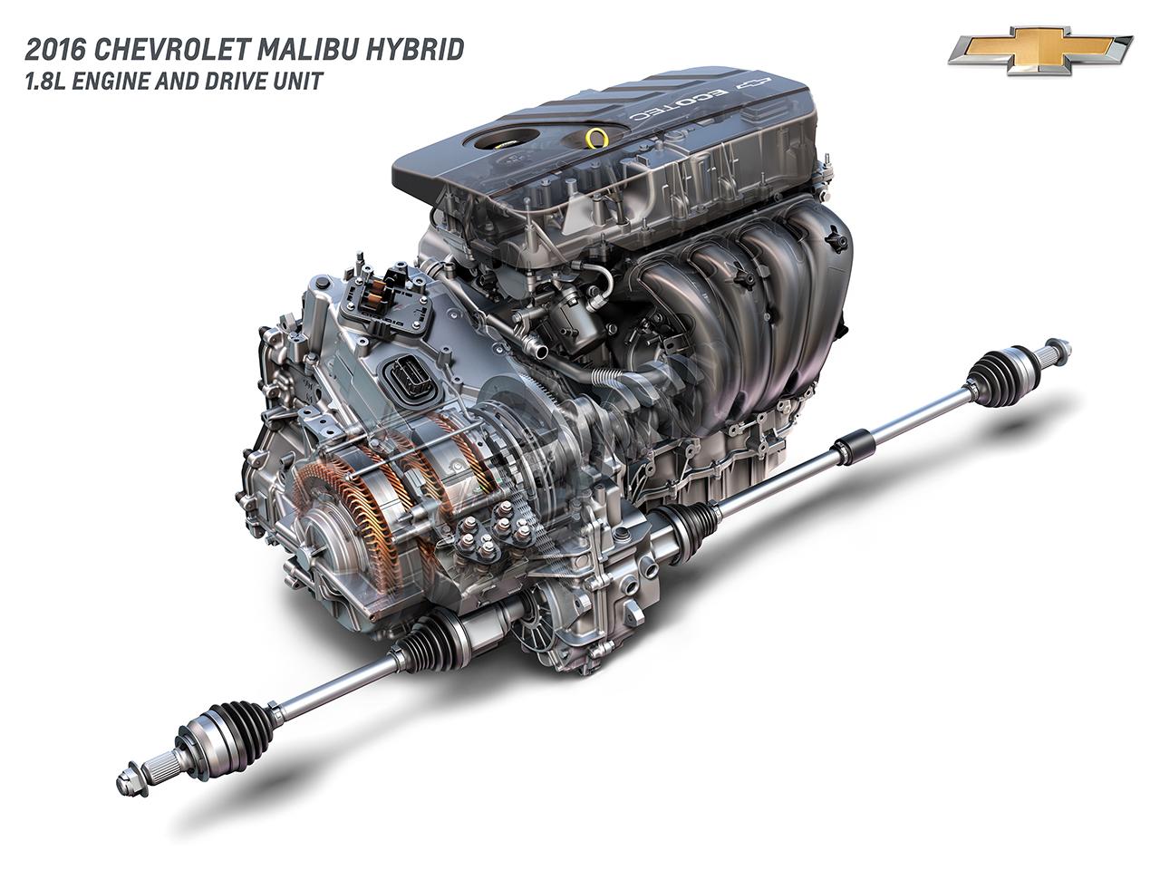 2016 Chevrolet Malibu Hybrid 1.8L Engine and Drive Unit - egmCarTech ...