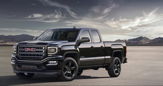 The 2016 GMC Sierra Elevation Edition gets updated for the new model year