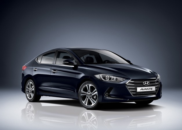 The new 2016 Hyundai Elantra gets revealed in Korea first as the Avante