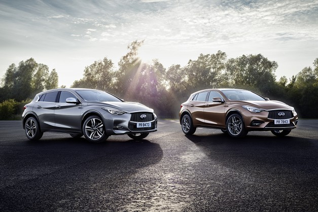2015 Frankfurt – IAA: Meet the first ever compact luxury hatch from Infiniti – the Q30 w/ video