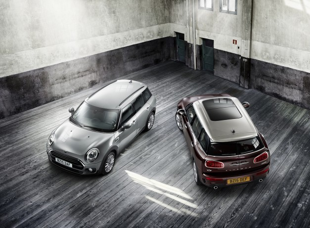 2015 Frankfurt – IAA: The 2016 Mini Clubman shows up to be the longest Mini ever made