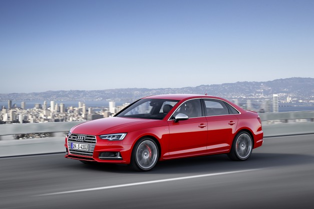 2015 Frankfurt – IAA: The 2017 Audi A4 and S4 show up to the party for Europe eyes first