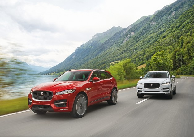 2015 Frankfurt – IAA: The Jaguar F-Pace is here to hunt down the BMW X5 and friends