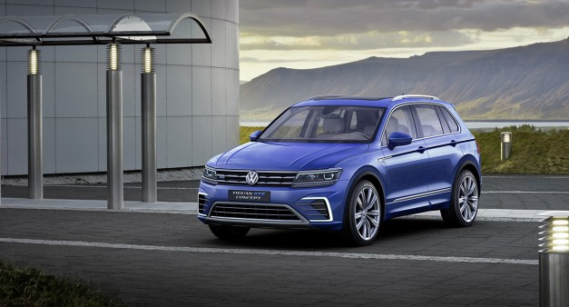 2015 Frankfurt – IAA: The 2017 Volkswagen Tiguan gets bigger and matures to say, hello world