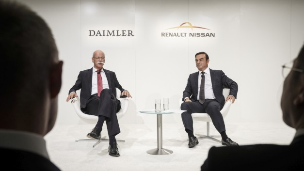 2015 Frankfurt – IAA: Daimler and Renault-Nissan Alliance get down to the details with stronger partnership