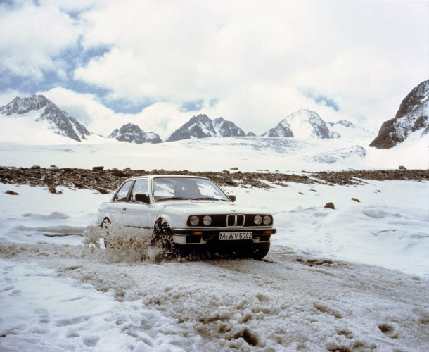 "BMW officially celebrates 30 years of all-wheel drive with the original E30 325iX ""Allrad"""