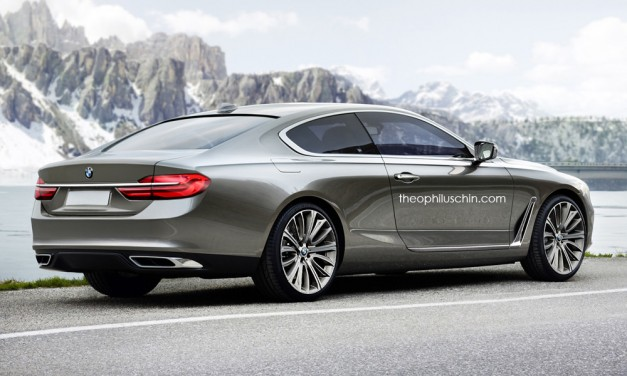 Photo Rendering: This toned down BMW Gran Lusso Concept could indicate next 8-Series