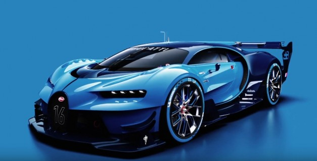 Video: Watch how Bugatti brought the Vision Gran Turismo to life